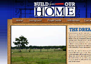 Custom Website - BCF Church Build our Home