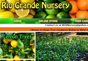 Custom Website - Rio Grande Nursery