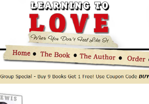 Custom Website - Learning to Love