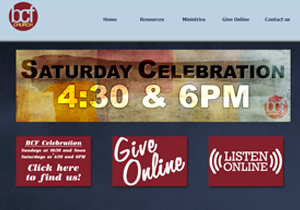 Custom Website - BCF Church