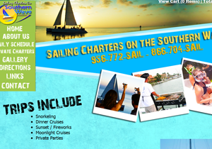 Custom Website & Software Development - SailSPI Sailing Charters